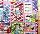 <キャラクター生地・布> おそ松さん(ピンク)【キャラクター】【生地】【布】【キャラクター生地】【入園】【入学】