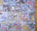 <Qキャラクター・キルティング生地>ディズニープリンセス(薄ブルー)#54【キルティング】【キルト】【ディズニー】【キルティング..