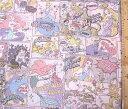 <キャラクター生地・布>ディズニープリンセス(薄クリーム)#54【ディズニー】【生地】【布】【キャラクター生地】【入園】【入学】