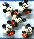 チルドボタン・ミッキーマウス(型抜き)【キャラクター子供ボタン・手芸用品】