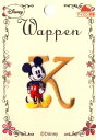 キャラクター 刺しゅうワッペン ミッキーマウス(K)( キャラクターワッペン アップリケ アイロン 刺繍 かわいい おしゃれ マーク キッズ 子供 こども 男の子 女の子 入園 入学 )