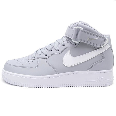 NIKE�ʥ���AIRFORCEIMID07�����ե�����1�ߥå�grey/white���졼/�ۥ磻��16SP