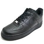 スニーカー ナイキ NIKE エアフォース1 07 ブラック/ブラック 315122-001 メンズ レディース シューズ 靴