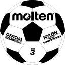 亀甲ゴムサッカーボール 3号球【molten】モルテン サッカーボール(f3w)<発送に2〜3日掛かります。>※20