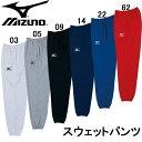 スウェットパンツ【MIZUNO】ミズノ スウェット 15SS(32JD4055)*25