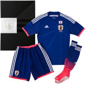 日本代表ホームオーセンティックプレミアムキット3点セット【adidas】アディダス●サッカー日本代表ウェア(ANQ02-F82366)