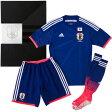 【1200枚限定】日本代表 ホーム オーセンティック プレミアムキット 3点セット【adidas】アディダス ● サッカー日本代表ウェア(ANQ02-F82366 )