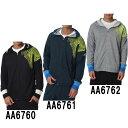 フットサル スウェット フード SALジャケット【adidas】アディダス● トレーニングウェア 15FW(ABQ37)*47