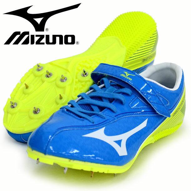 ジオサイクロン【MIZUNO】 ミズノ 陸上スパイク 100〜400m ハードル用 16SS(U1GA161525)*60
