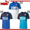 イタリア代表 FIGCイタリア FANWEAR グラフィックTシャツ【PUMA】プーマ ● イタリア プラクティスシャツ 16SS(750421)※43*64