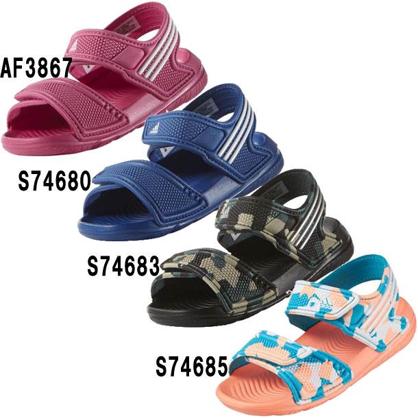 BABY アクワ Infant【adidas】アディダス JR サンダル ビーチサンダル 16SS(AF3867 S74680 S74683 S74685)*43