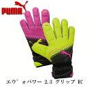エヴォパワー 2.3 グリップ RC 【PUMA】プーマ キーパーグローブ 16SS(041222-10)※20
