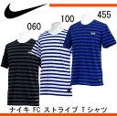 ナイキ F.C. ストライプ Tシャツ【NIKE】ナイキ ●Tシャツ 16SS(789450)※30