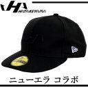 限定 キャップ (ニューエラ コラボ)【ハタケヤマ】 野球 キャップ16SS(H-CAP1)*00