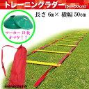 トレーニングラダー (マーカーコーン10枚付き!)【softouch】ソフタッチ サッカー トレーニング用品(SO-RADER)16SS*25