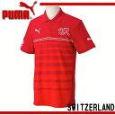 スイス代表 ポロシャツ【PUMA】プーマ ●サッカーウェア ポロシャツ 14SS(744366-01)*70