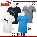 CD SS TEE【PUMA】プーマ ● 半袖Tシャツ16SS(837882)*48