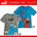 LICENSING TEE (ジュニア)【PUMA】プーマ ● セサミストリート JR Tシャツ(836718)*56
