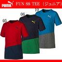 FUN SS TEE (ジュニア)【PUMA】プーマ● JR Tシャツ 半袖Tシャツ(839040)*51