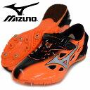 ジオスプリント 3【MIZUNO】 ミズノ 陸上スパイク 100・400mハードル用 短距離専用 17SS(U1GA171019)*26