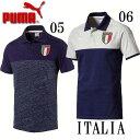 イタリア代表FIGC ITALIA アズーリポロシャツ【PUMA】プーマ レプリカウェア17SS(752109)*20