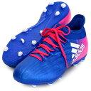 エックス 16.1 FG/AG J【adidas】アディダス ● ジュニア サッカースパイク X17SS(BB5692)*40