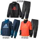 KIDS Rengi ウォーマートップ・パンツ(中綿)上下セット【adidas】アディダス ● ジュニアトレーニングウェア ピステ16FW(BQL33/34)*48