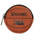 NBA ボールコインケース 【SPALDING】スポルディング バスケットボール*10