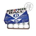 軟式ボール B号球 試合球 (1ダーズ)【KENKO】ナガセケンコー 軟式ボール 新公認球(kenko_b)*36