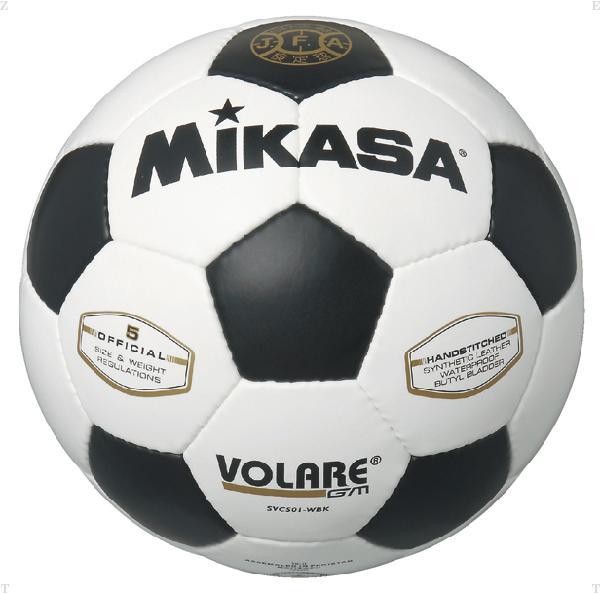 検定球 サッカー 5号 白/黒【MIKASA】ミカササッカーmikasa(SVC501WBK)*21