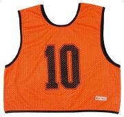 ゲームジャケット ハーフ10枚 オレンジ【MIKASA】ミカサマルチSP11FW mikasa(GJH10O)*20