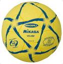 ハンド2号 練習球 黄/黒【MIKASA】ミカサハントドッチ mikasa(HP203YB)*21