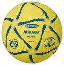 ハンド3号 練習球 黄/黒【MIKASA】ミカサハントドッチmikasa(HP303YB)*20