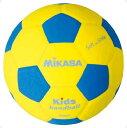 ハンド1号 青/黄【MIKASA】ミカサハントドッチ11FW mikasa(SH1YBL)*21