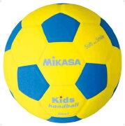 ハンド1号 青/黄【MIKASA】ミカサハントドッチ11FW mikasa(SH1YBL)*20