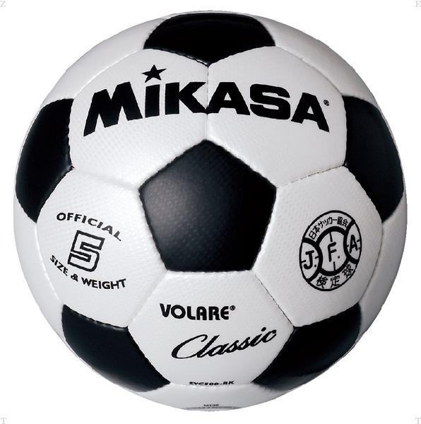 サッカー5号 縫い ブラック【MIKASA】ミカ...の商品画像