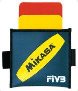 警告カード バレー用【MIKASA】ミカサバレー11FW mikasa(VK)*25