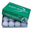軟式ボール A号球 試合球 (1球)【NAIGAI】ナイガイゴム 軟式ボール 新公認球(naigai_ab)*16