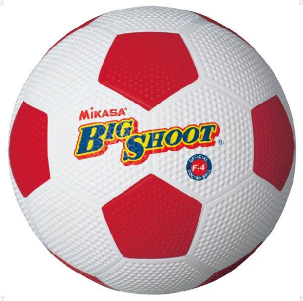 サッカー4号 ゴム グリーン【MIKASA】ミカ...の商品画像