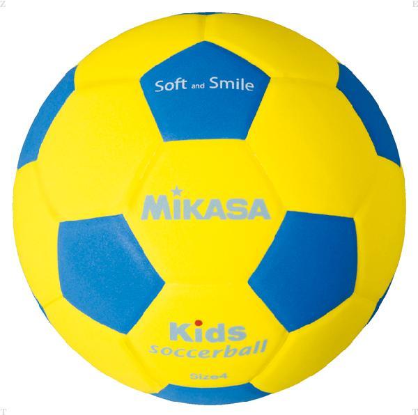 キッズサッカー軽量4号【MIKASA】ミカサバレー11FW mikasa(SF4YBL)*21