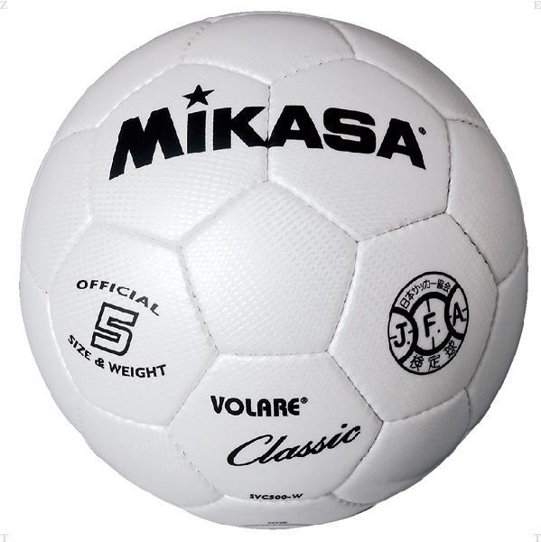 サッカー5号 縫い ホワイト【MIKASA】ミカ...の商品画像