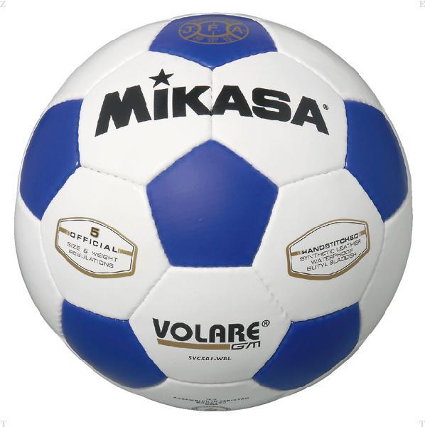 検定球 サッカー5号 白/青【MIKASA】ミカササッカー mikasa(SVC501WBL)<お取り寄せ商品の為、発送に2〜5日掛かります。>*21
