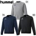 スウェットトップ(丸首)【hummel】ヒュンメル サッカー ●スウェット 14SS(HAP8109)*59