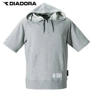 ミニ裏毛パーカーシャツ【DIADORA】ディアドラパーカーフットサルウェア13SS(SP3321)