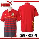カメルーン代表 ポロシャツ【PUMA】プーマ ●サッカーウェア ポロシャツ 14SS(744540-01)*70