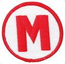 バレーボールマーク 刺繍【MIKASA】ミカサバレー11FW mikasa(KMM)*20