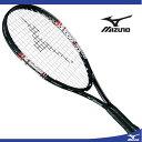 『張り上げラケット』テニスラケット ST 550(09ブラック)【MIZUNO】ミズノテニス SHORT TENNIS ラケット(63JTH55809)*25