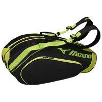 ラケットバッグ(6本入れ)【MIZUNO】ミズノテニス バッグ ラケットバッグ(63JD7003)*60の画像