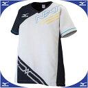 クロスシャツ(レディース)【MIZUNO】ミズノバレーボール ウエア N-XT(V2JC6202)※25