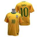 【50%OFF】ブラジル2010ホームS/SジャージKAKA10【NIKE】ナイキサッカーユニフォーム(369250KAKA-703)